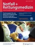 Notfall +  Rettungsmedizin 3/2015