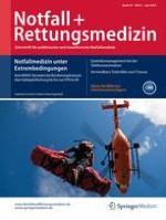 Notfall +  Rettungsmedizin 4/2015