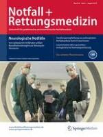 Notfall +  Rettungsmedizin 5/2015