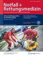 Notfall +  Rettungsmedizin 6/2015
