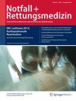 Notfall +  Rettungsmedizin 8/2015