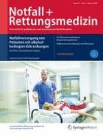 Notfall +  Rettungsmedizin 1/2016