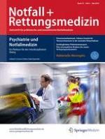 Notfall +  Rettungsmedizin 3/2016