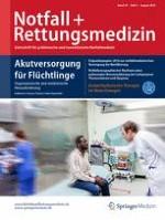 Notfall +  Rettungsmedizin 5/2016