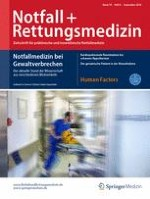 Notfall +  Rettungsmedizin 6/2016