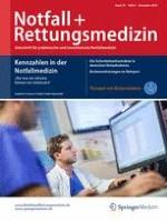 Notfall +  Rettungsmedizin 8/2016