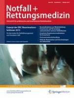 Notfall +  Rettungsmedizin 1/2017