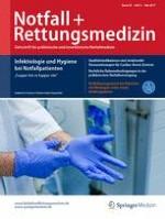 Notfall +  Rettungsmedizin 3/2017