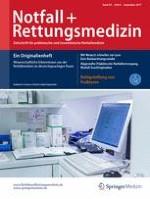 Notfall +  Rettungsmedizin 6/2017