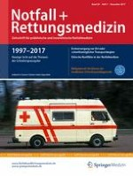 Notfall +  Rettungsmedizin 7/2017