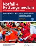 Notfall +  Rettungsmedizin 3/2018