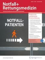Notfall +  Rettungsmedizin 7/2019