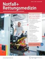 Notfall + Rettungsmedizin 8/2020