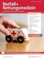 Notfall + Rettungsmedizin 1/2021