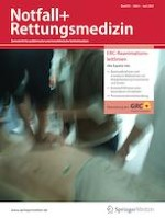 Notfall + Rettungsmedizin 4/2021