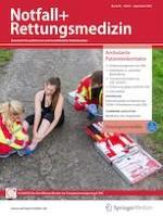 Notfall + Rettungsmedizin 6/2021