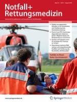 Notfall +  Rettungsmedizin 6/2001
