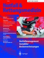 Notfall +  Rettungsmedizin 3/2004
