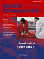 Notfall +  Rettungsmedizin 2/2005