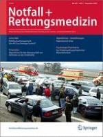 Notfall +  Rettungsmedizin 7/2005
