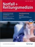 Notfall +  Rettungsmedizin 5/2006