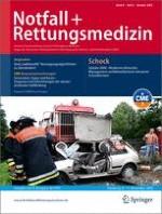 Notfall +  Rettungsmedizin 6/2006