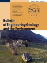 Bulletin of Engineering Geology and the Environment 1/2016