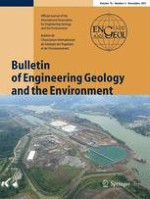 Bulletin of Engineering Geology and the Environment 4/2017
