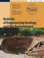 Bulletin of Engineering Geology and the Environment 1/2018