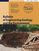 Bulletin of Engineering Geology and the Environment 3/2018