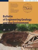 Bulletin of Engineering Geology and the Environment 7/2020