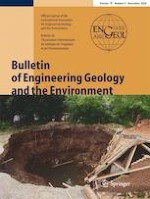 Bulletin of Engineering Geology and the Environment 9/2020