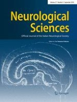 Neurological Sciences 9/2016