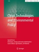 Clean Technologies and Environmental Policy 1/2009