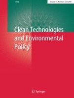 Clean Technologies and Environmental Policy 2/2009