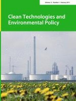 Clean Technologies and Environmental Policy 1/2011