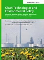 Clean Technologies and Environmental Policy 3/2012