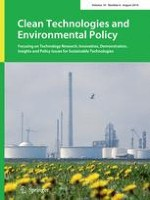 Clean Technologies and Environmental Policy 6/2014