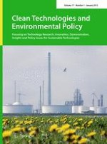Clean Technologies and Environmental Policy 1/2015