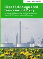 Clean Technologies and Environmental Policy 6/2015