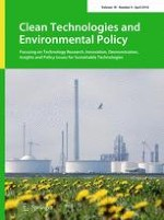 Clean Technologies and Environmental Policy 4/2016