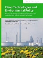 Clean Technologies and Environmental Policy 6/2016