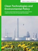 Clean Technologies and Environmental Policy 10/2017