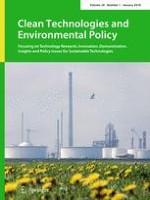 Clean Technologies and Environmental Policy 1/2018