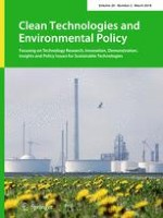 Clean Technologies and Environmental Policy 2/2018