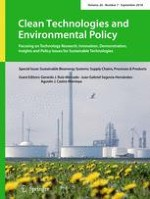 Clean Technologies and Environmental Policy 7/2018