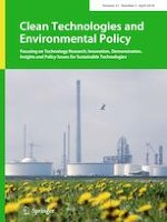 Clean Technologies and Environmental Policy 3/2019