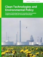 Clean Technologies and Environmental Policy 5/2019