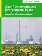 Clean Technologies and Environmental Policy 7/2019