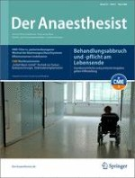 Der Anaesthesist 5/2006